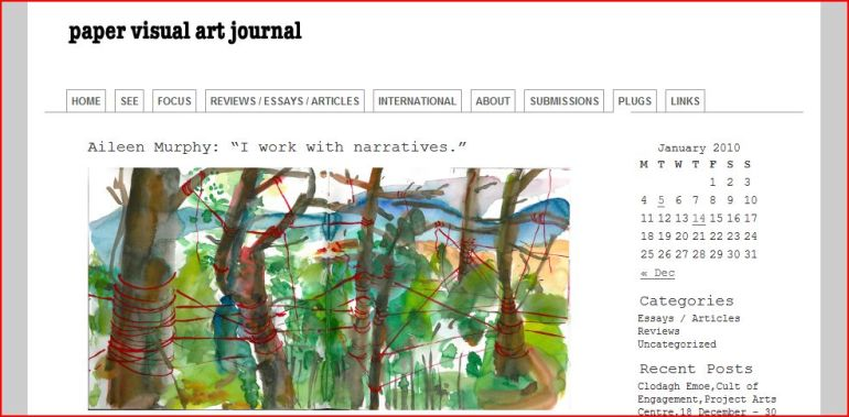 Paper Visual Art Journal