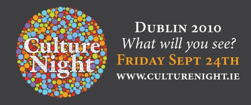 Culture Night Dublin 2010