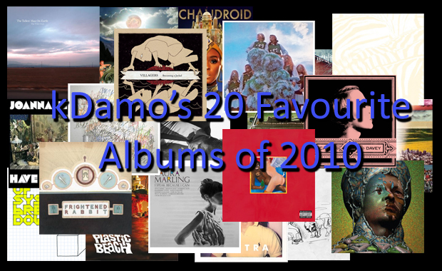 20 Favourite Albums of 2010